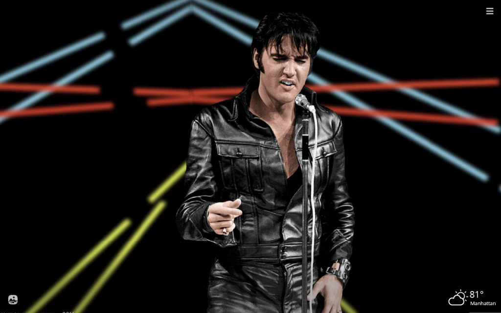 Elvis Presley HD Wallpapers New Tab