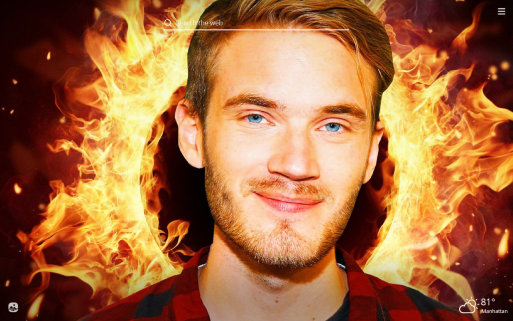 Pewdiepie HD Wallpapers New Tab Theme